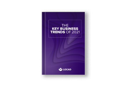 Key business cover mockup